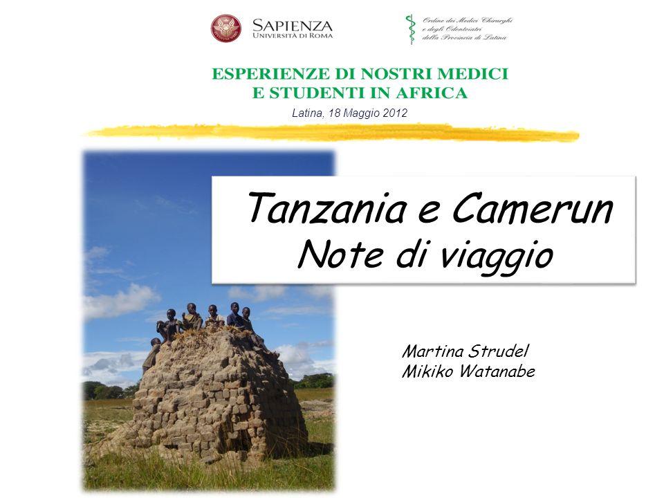 Tanzania e Camerun Note di viaggio
