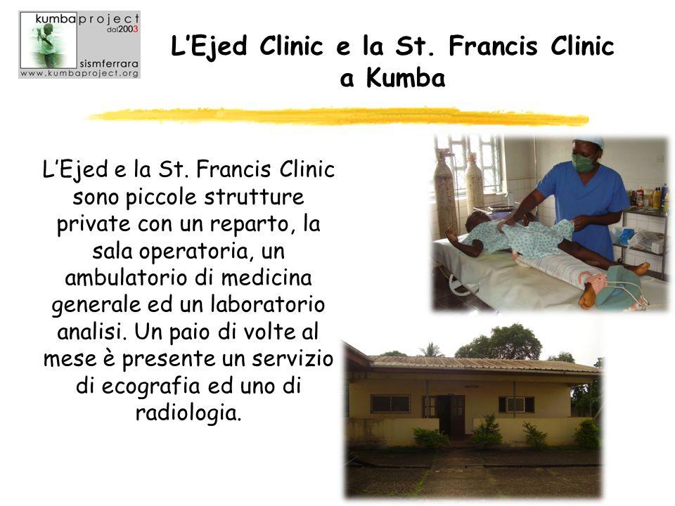 L'Ejed Clinic e la St. Francis Clinic a Kumba