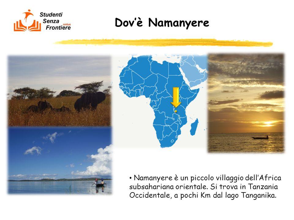 Dov'è Namanyere Namanyere è un piccolo villaggio dell'Africa subsahariana orientale.