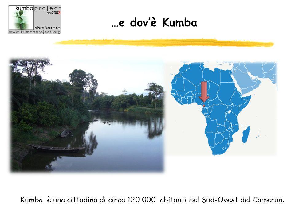 …e dov'è Kumba Kumba è una cittadina di circa 120 000 abitanti nel Sud-Ovest del Camerun.