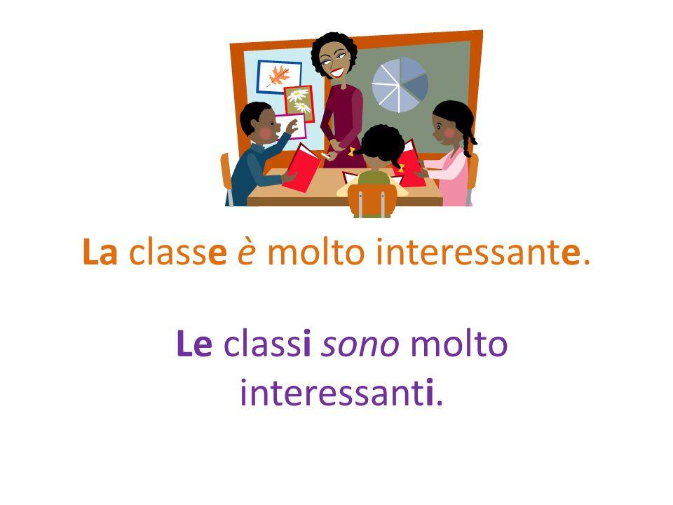 La classe è molto interessante.