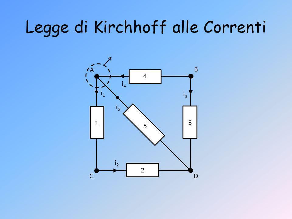 Legge di Kirchhoff alle Correnti