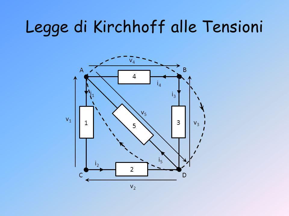 Legge di Kirchhoff alle Tensioni