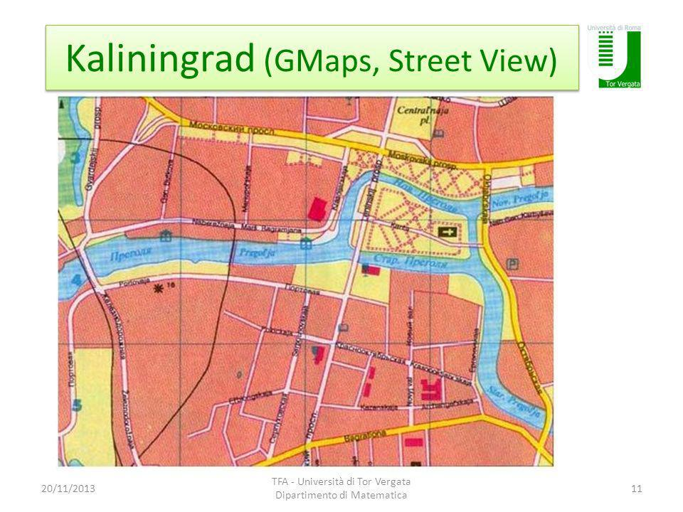 Kaliningrad (GMaps, Street View)