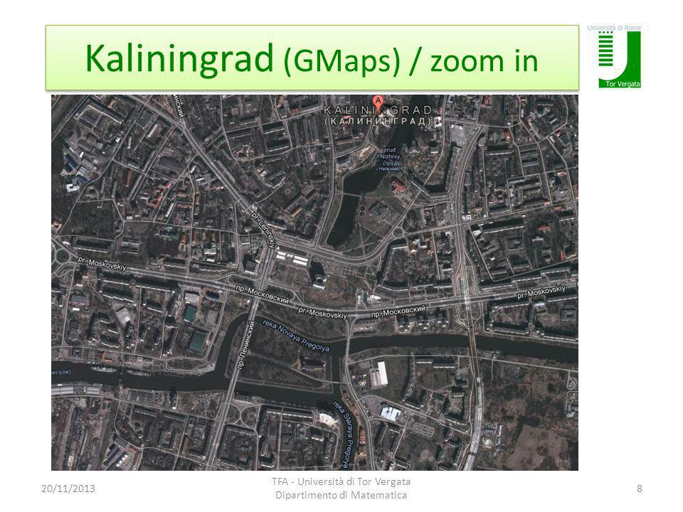 Kaliningrad (GMaps) / zoom in