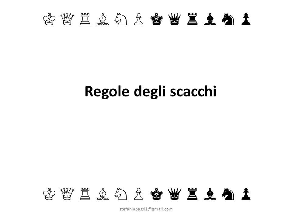 Regole degli scacchi ♔ ♕ ♖ ♗ ♘ ♙ ♚ ♛ ♜ ♝ ♞ ♟ ♔ ♕ ♖ ♗ ♘ ♙ ♚ ♛ ♜ ♝ ♞ ♟