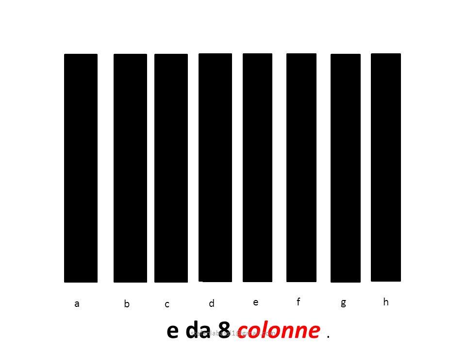 a b c d e f g h e da 8 colonne . stefaniabassi1@gmail.com