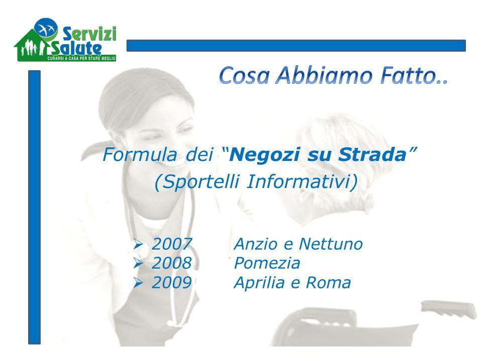 Formula dei Negozi su Strada (Sportelli Informativi)