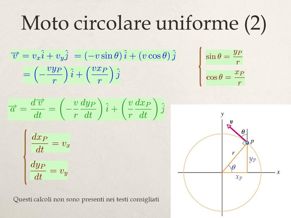 Moto circolare uniforme (2)