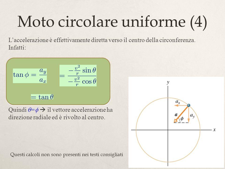 Moto circolare uniforme (4)