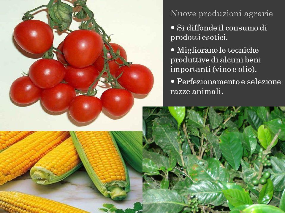 Nuove produzioni agrarie