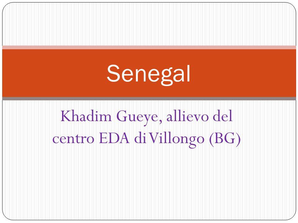 Khadim Gueye, allievo del centro EDA di Villongo (BG)