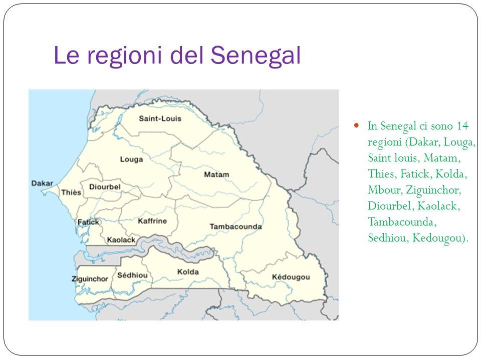 Le regioni del Senegal