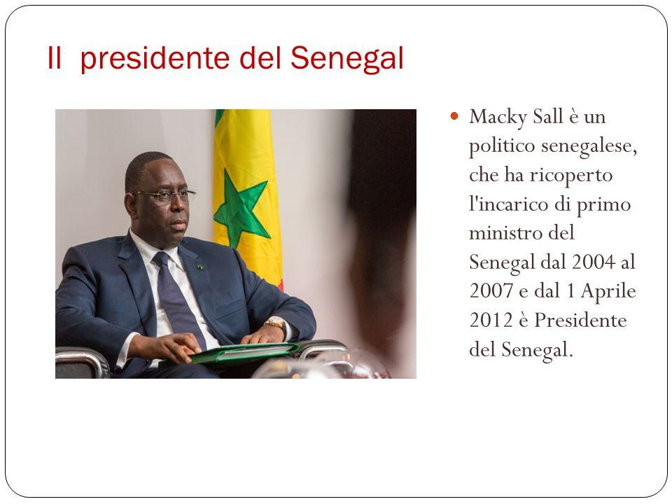 Il presidente del Senegal