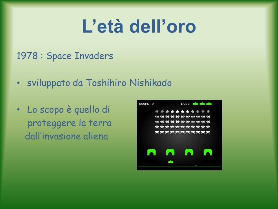L'età dell'oro 1978 : Space Invaders sviluppato da Toshihiro Nishikado