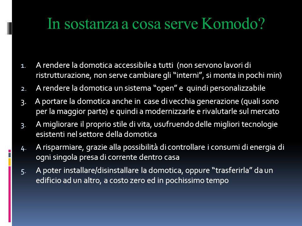 In sostanza a cosa serve Komodo