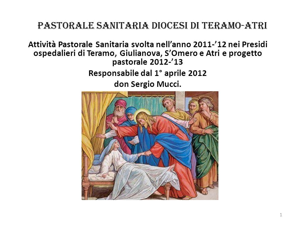 Pastorale Sanitaria diocesi di Teramo-Atri