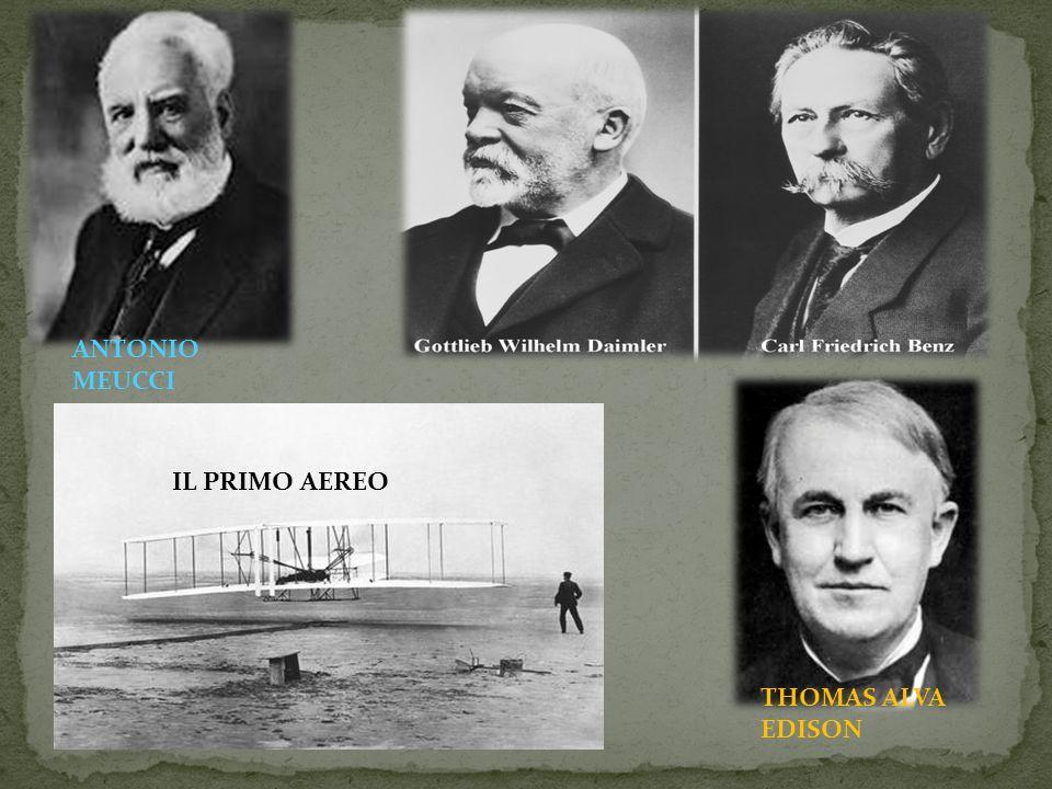 ANTONIO MEUCCI IL PRIMO AEREO THOMAS ALVA EDISON