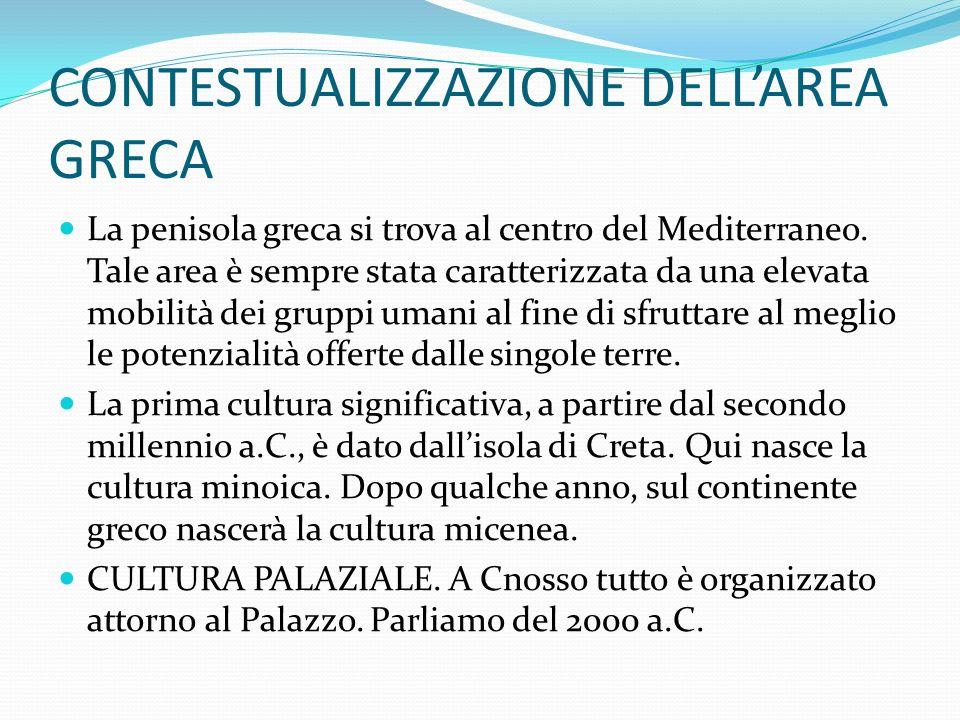 CONTESTUALIZZAZIONE DELL'AREA GRECA