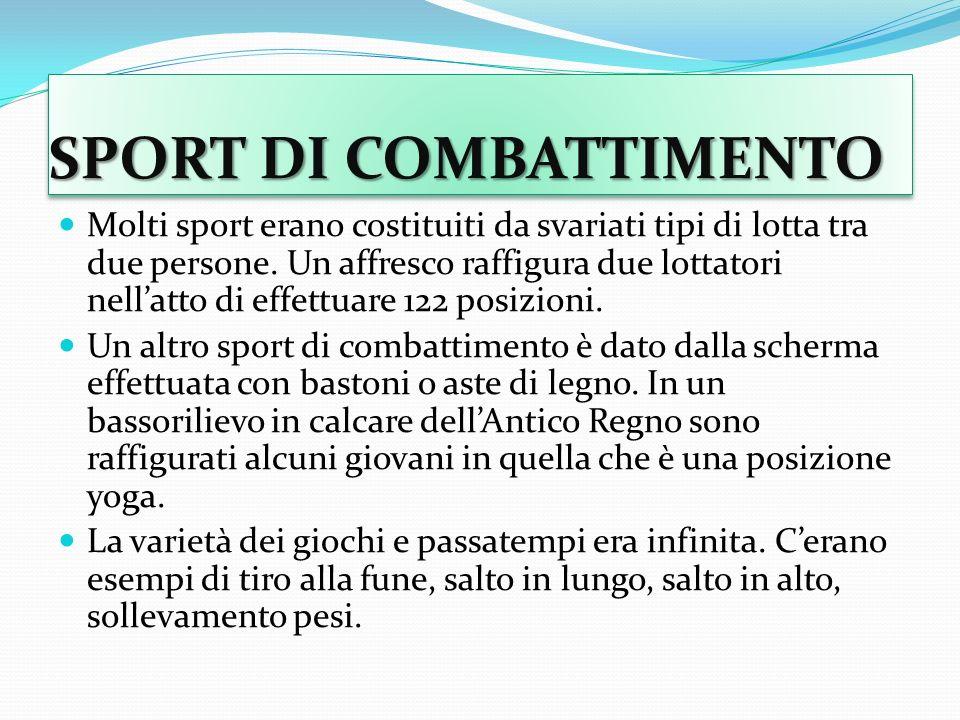 SPORT DI COMBATTIMENTO