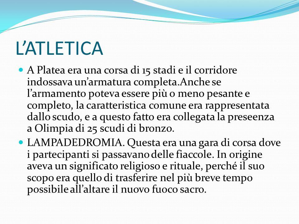 L'ATLETICA