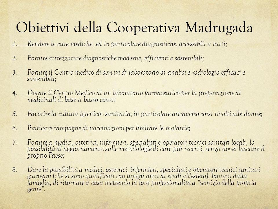 Obiettivi della Cooperativa Madrugada