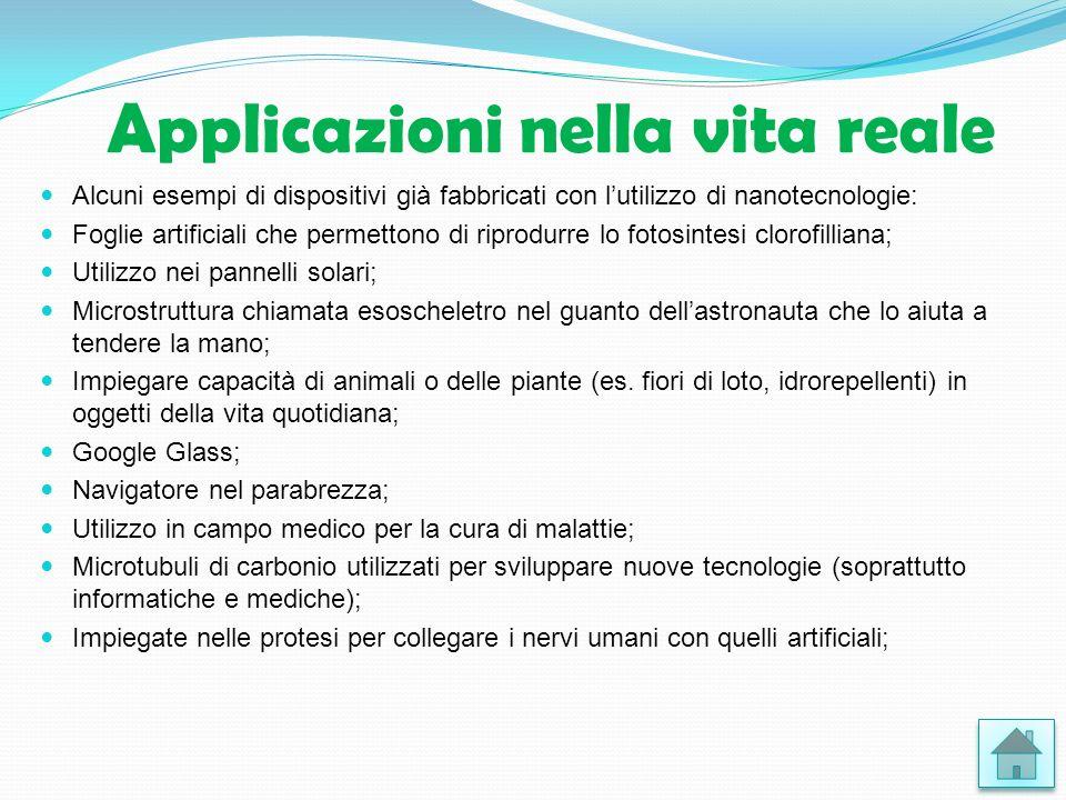 Applicazioni nella vita reale