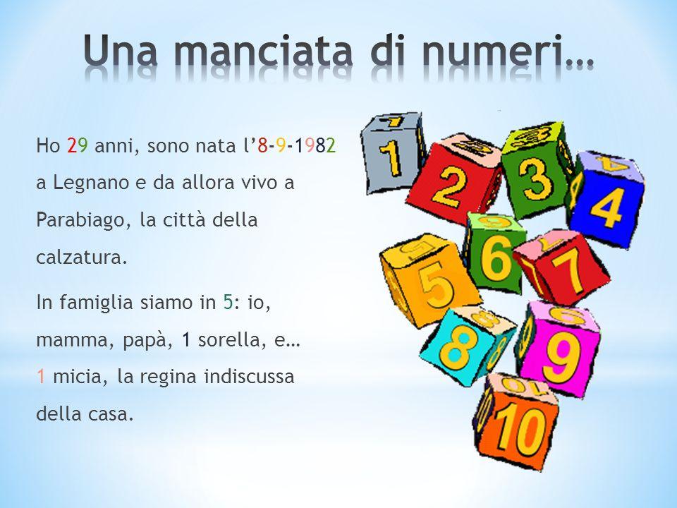 Una manciata di numeri…