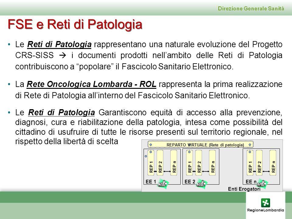 FSE e Reti di Patologia