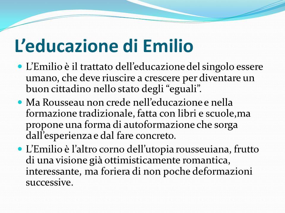 L'educazione di Emilio