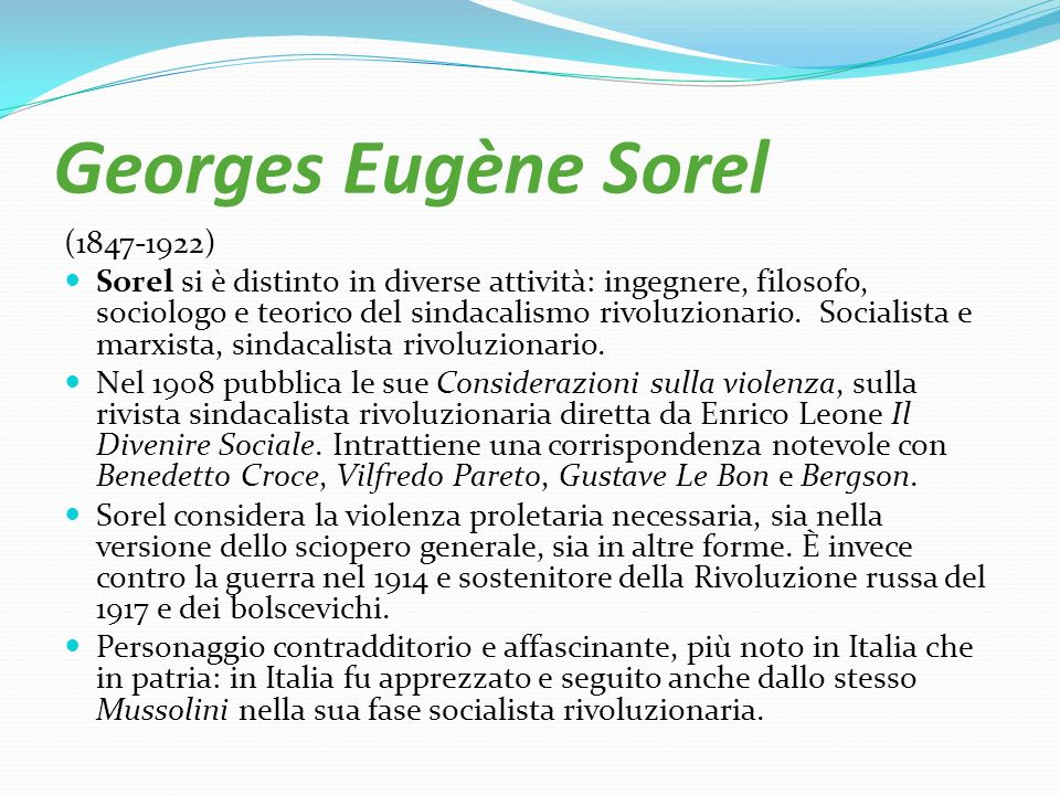Georges Eugène Sorel (1847-1922)