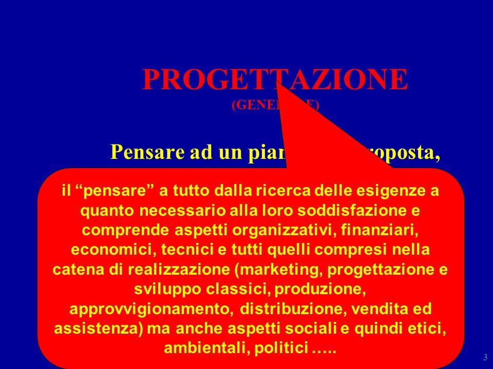 PROGETTAZIONE (GENERALE)