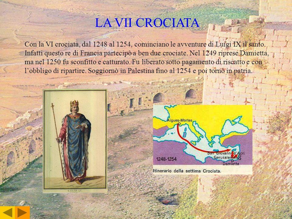 LA VII CROCIATA