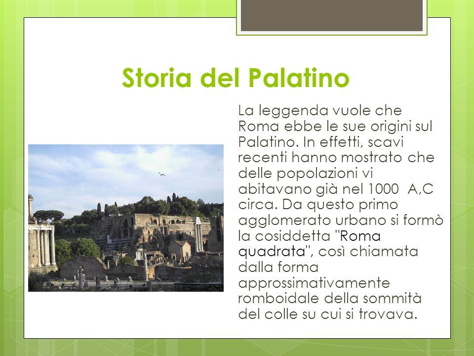 Storia del Palatino