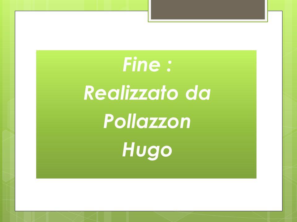 Fine : Realizzato da Pollazzon Hugo