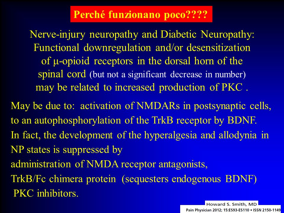 Nerve-injury neuropathy and Diabetic Neuropathy: