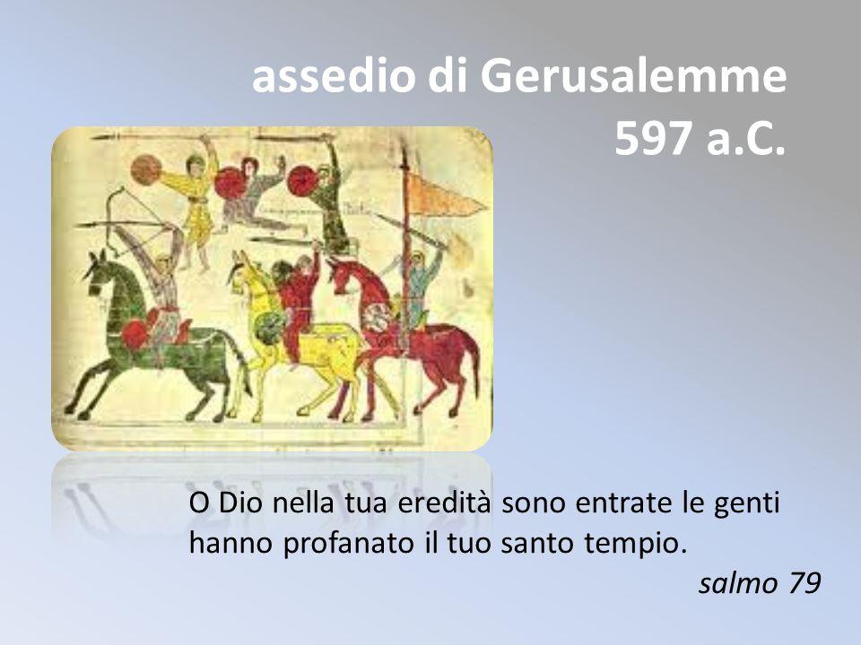assedio di Gerusalemme 597 a.C.