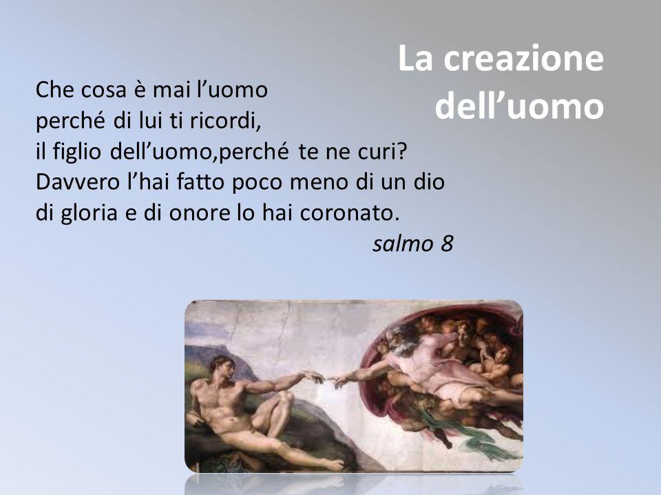 La creazione dell'uomo
