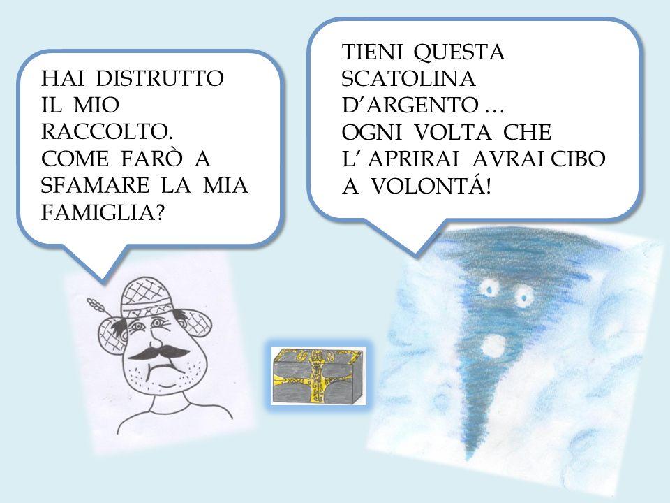 TIENI QUESTA SCATOLINA D'ARGENTO …