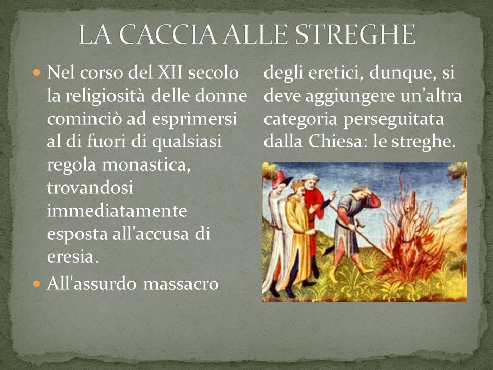 LA CACCIA ALLE STREGHE