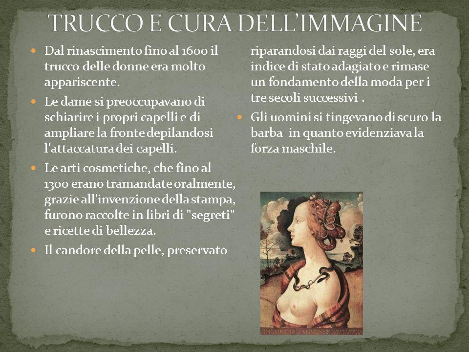 TRUCCO E CURA DELL'IMMAGINE