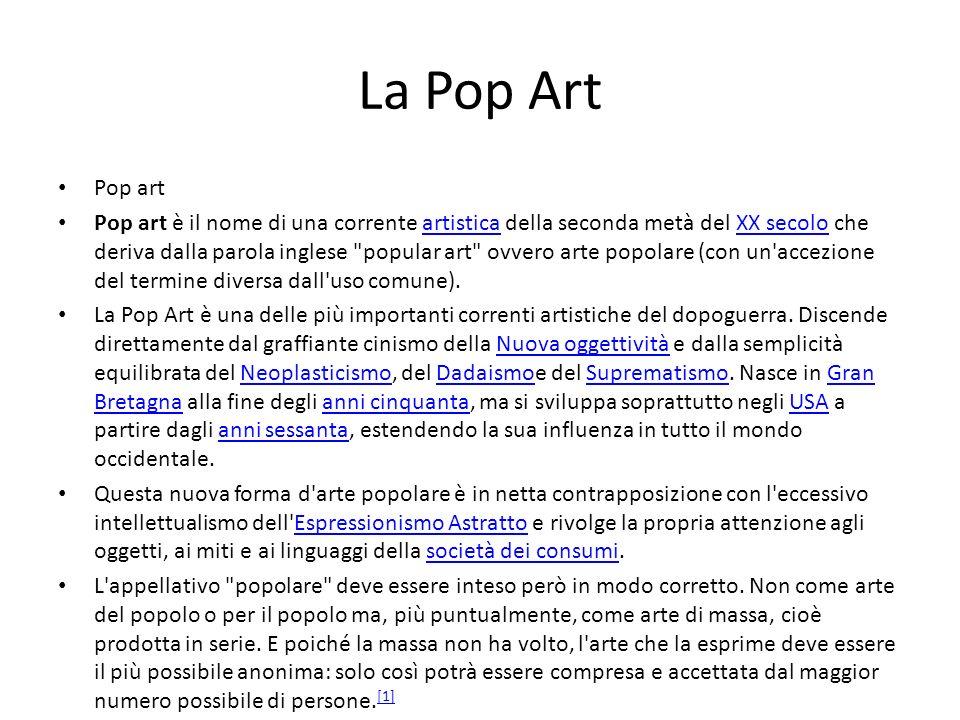 La Pop ArtPop art.