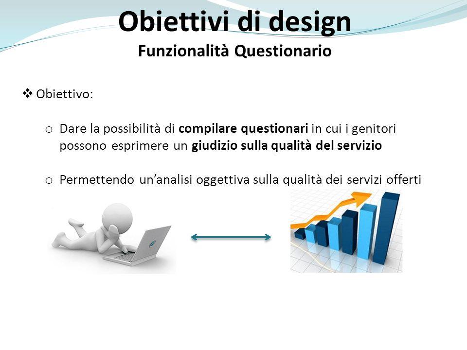Funzionalità Questionario