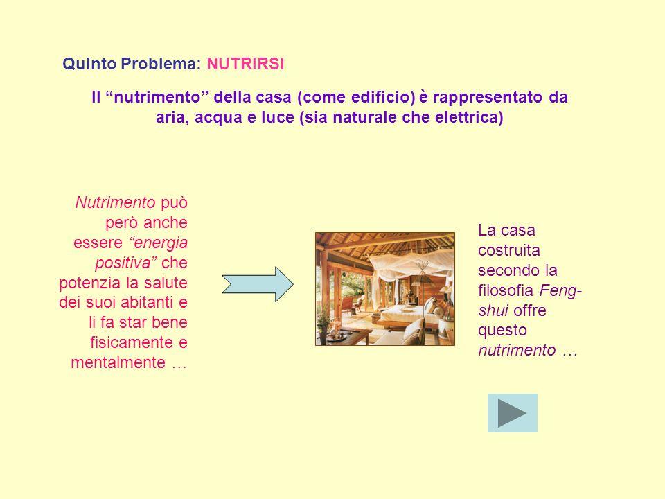 Quinto Problema: NUTRIRSI