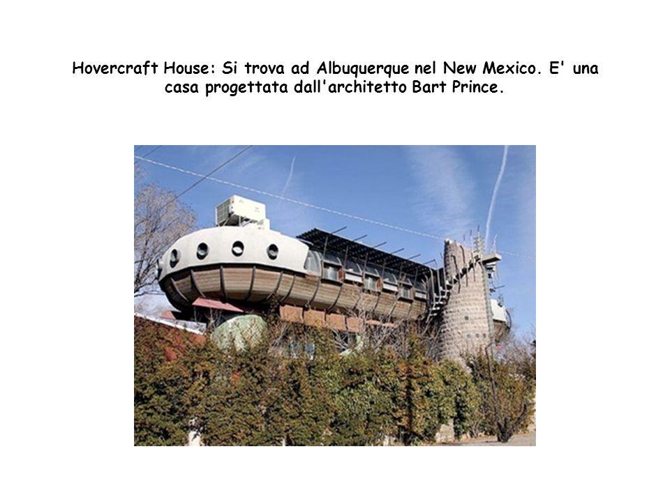 Hovercraft House: Si trova ad Albuquerque nel New Mexico