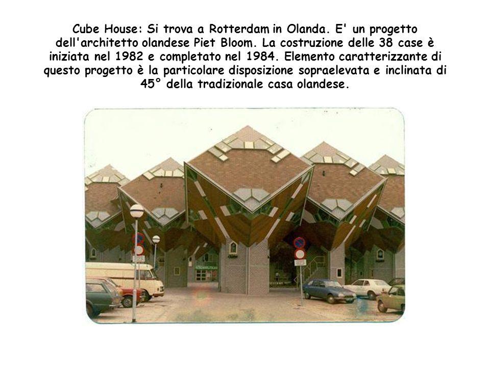 Cube House: Si trova a Rotterdam in Olanda