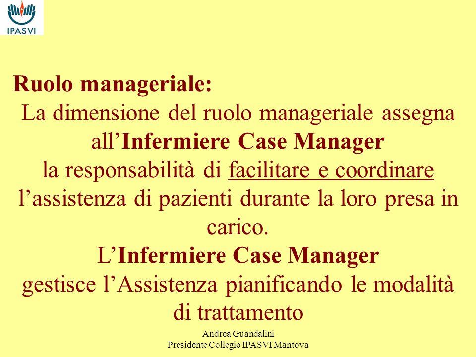 L'Infermiere Case Manager