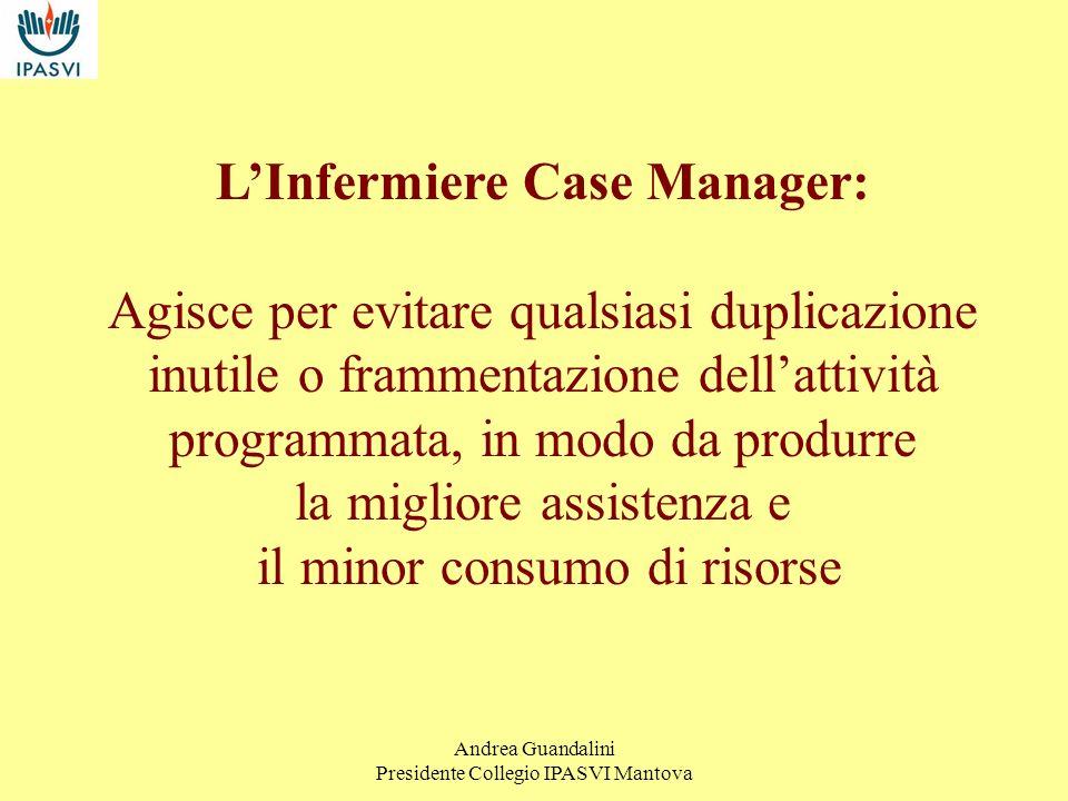 L'Infermiere Case Manager: