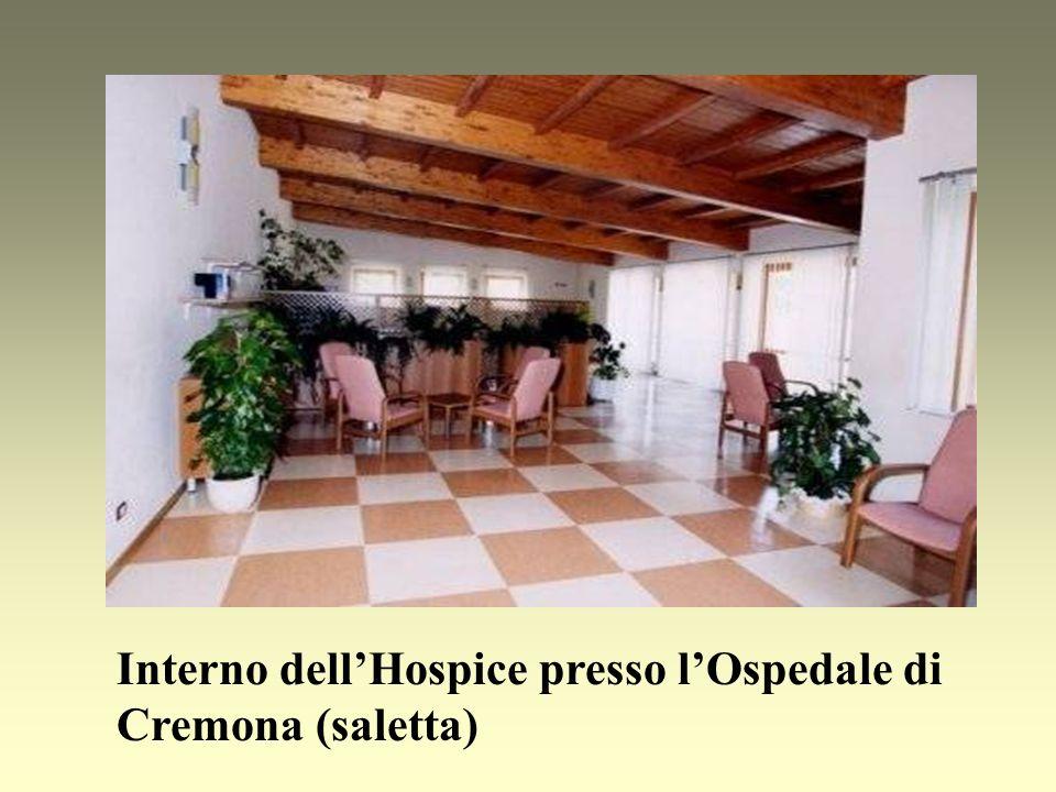 Interno dell'Hospice presso l'Ospedale di Cremona (saletta)