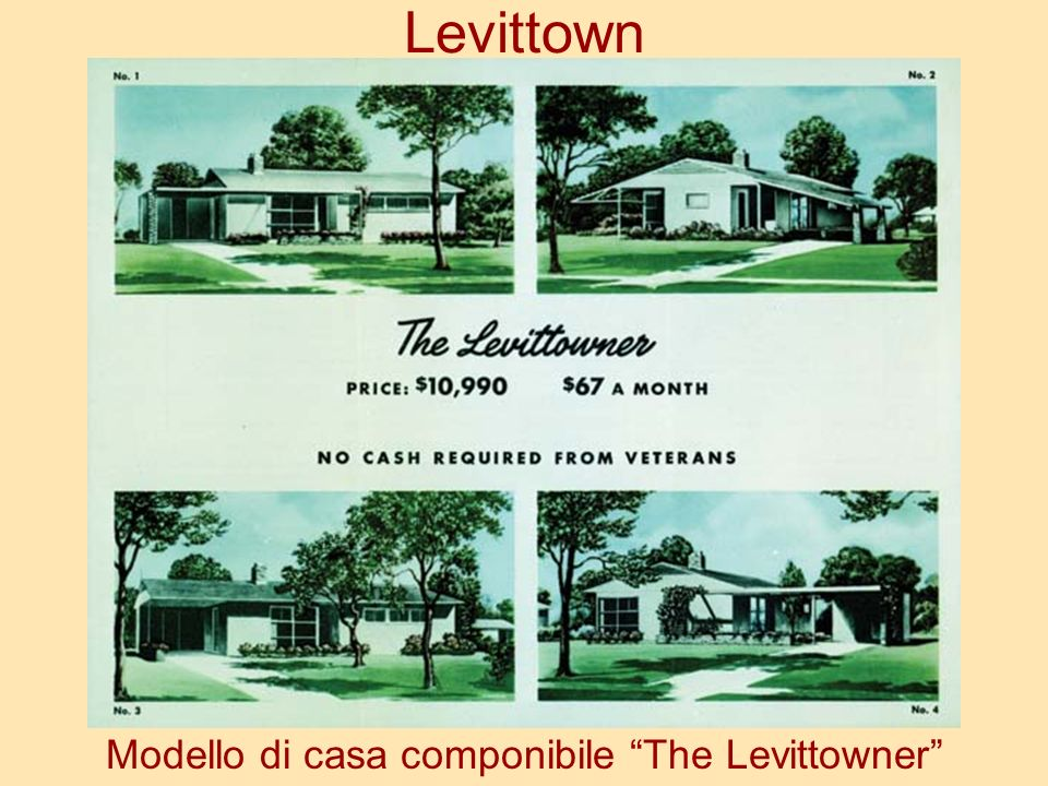 Modello di casa componibile The Levittowner